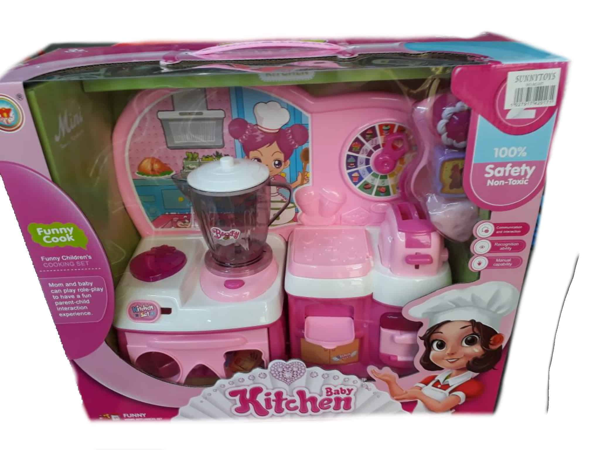 Baby kitchen set funny cook 100 safety non toxic