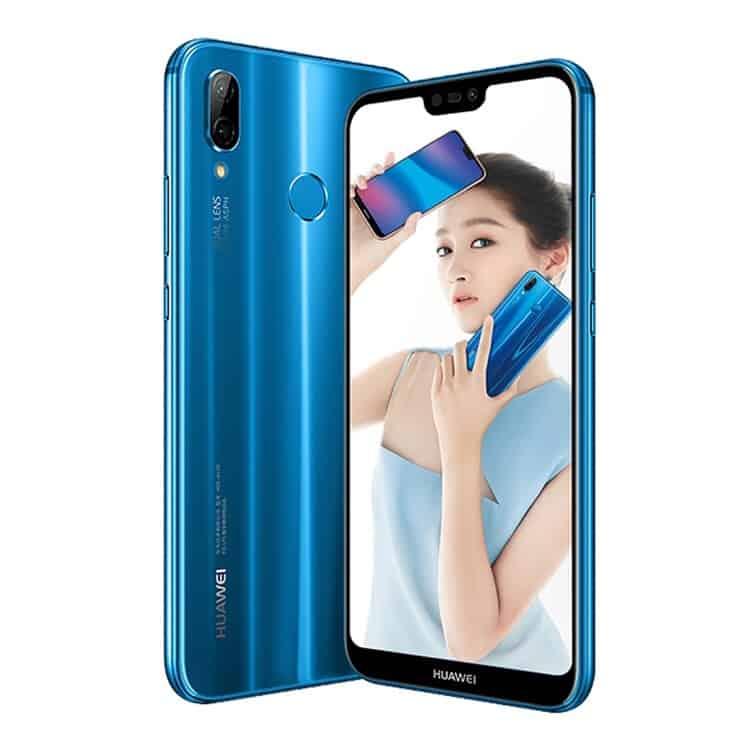 Huawei nova 3e ANE-AL00, 4GB+128GB (Blue)