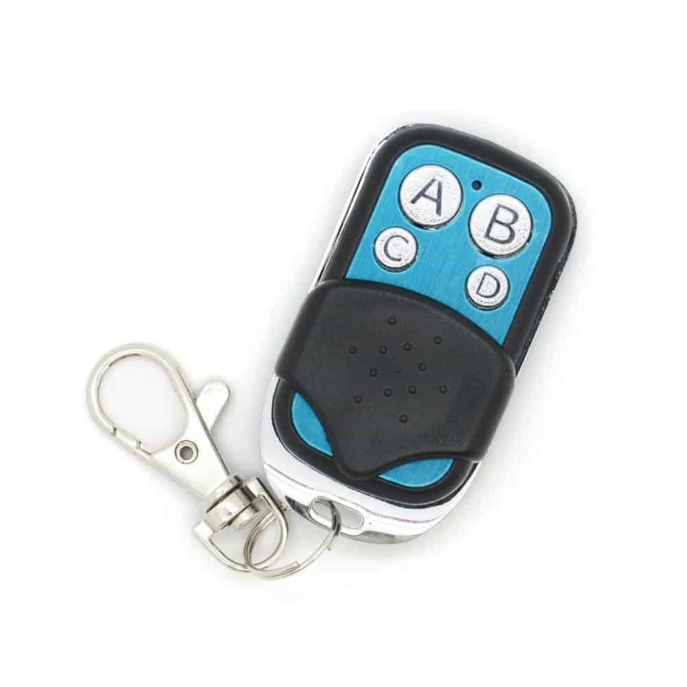 Sonoff Control Key 433MHz Remote Control 4-Channel Wireless Smart RF  Control Electric Gate Door Smart Remote Fob Controller